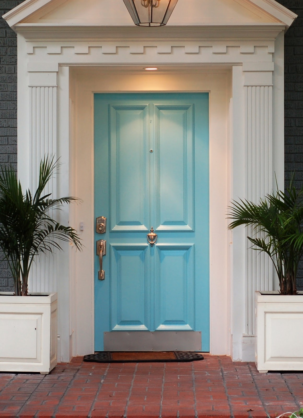 Pretty front doors 346 living for Exterior front door ideas