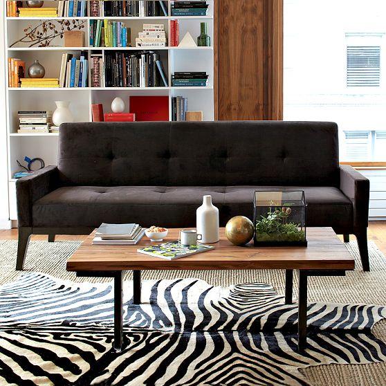 industrial coffee table west elm 3