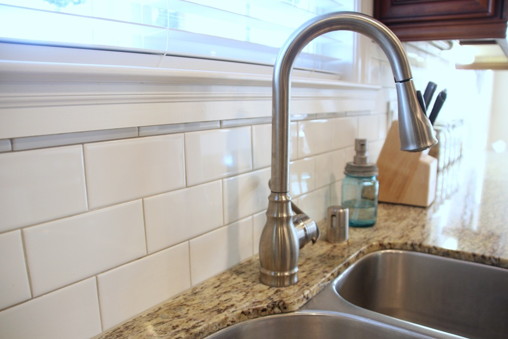 Kitchen Backsplash Grout Color tile | 346 living