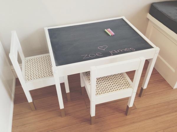 Ikeaのlattをdiy!!キッズ用テーブルと椅子のおしゃれアレンジ集☆|marble マーブル