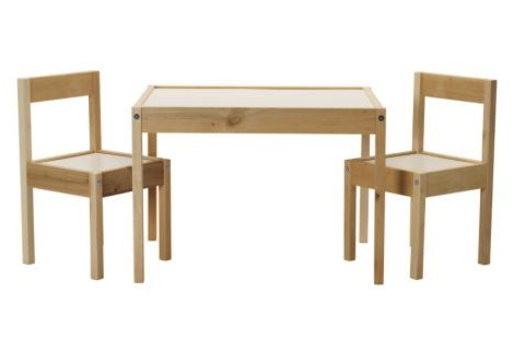 ikea latt table and chairs 2